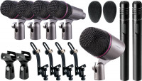 SuperSeven Drum Mic Set Soundsation DMS-PRO-7