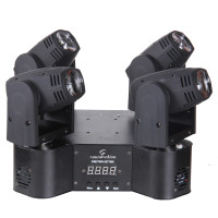 4 Heads LED Beam Moving Head Light 10W Each Soundsation MHL-4H