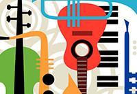 Muziekonderwijs instrumenten