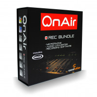 OnAir Studio Recording Bundle Soundatation OnAir