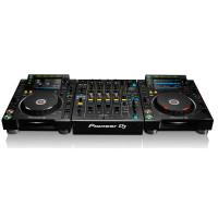 Pioneer set 1x DJM900NXS2 (nieuw) + 2x CDJ2000NXS2 (demo)