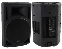 "Soundsation SSP10-15P 200W 2 Way Passive Speaker with 15"" Woofer"