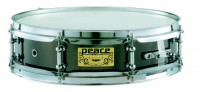 Steel Snare Drum Black Metal-Nickel Peace SD-512