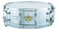 Steel Snare Drum Foundry Cast Peace SD-513
